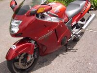 Honda super blackbird excellent condition must see ring for more details