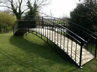 26ft Black Garden Bridge | FREE DELIVERY NATIONWIDE