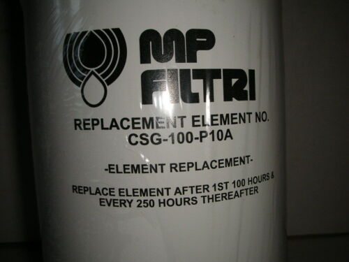 MP Filtri CSG100P10A Replacement Hydraulic Filter Element, NOS! 1-Filter