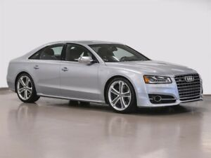 2015 Audi S8 4.0T quattro 8sp Tiptronic RARE S8 LOW KM NEVER AC