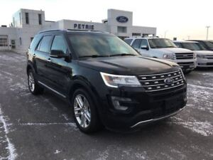 2017 Ford Explorer Limited - AWD, HEATED/COOLED LEATHER, NAV