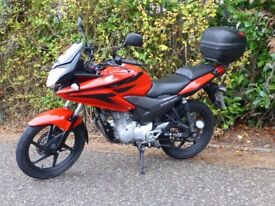 HONDA CBF125 IN RED