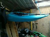 Kayak and gear