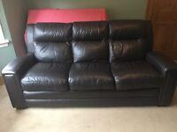 3 Seater leather sofa - Furniture Village