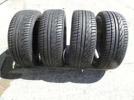 Four as new michelin tyres