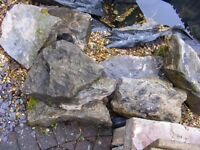 Rocks for rockery or pond. £65