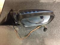 BMW E46 drivers side wing mirror