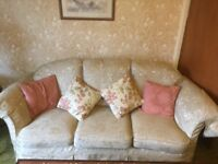 3 piece sofa with 2 chairs