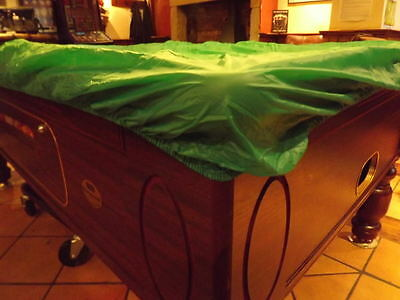 POOL TABLES SOFT WATERPROOF DUST PROTECT COVER FITS ALL 7ft TABLES