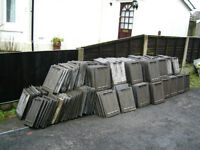 350 x Russell Grampian Roof Tiles - USED - *£50 BARGAIN* Southport