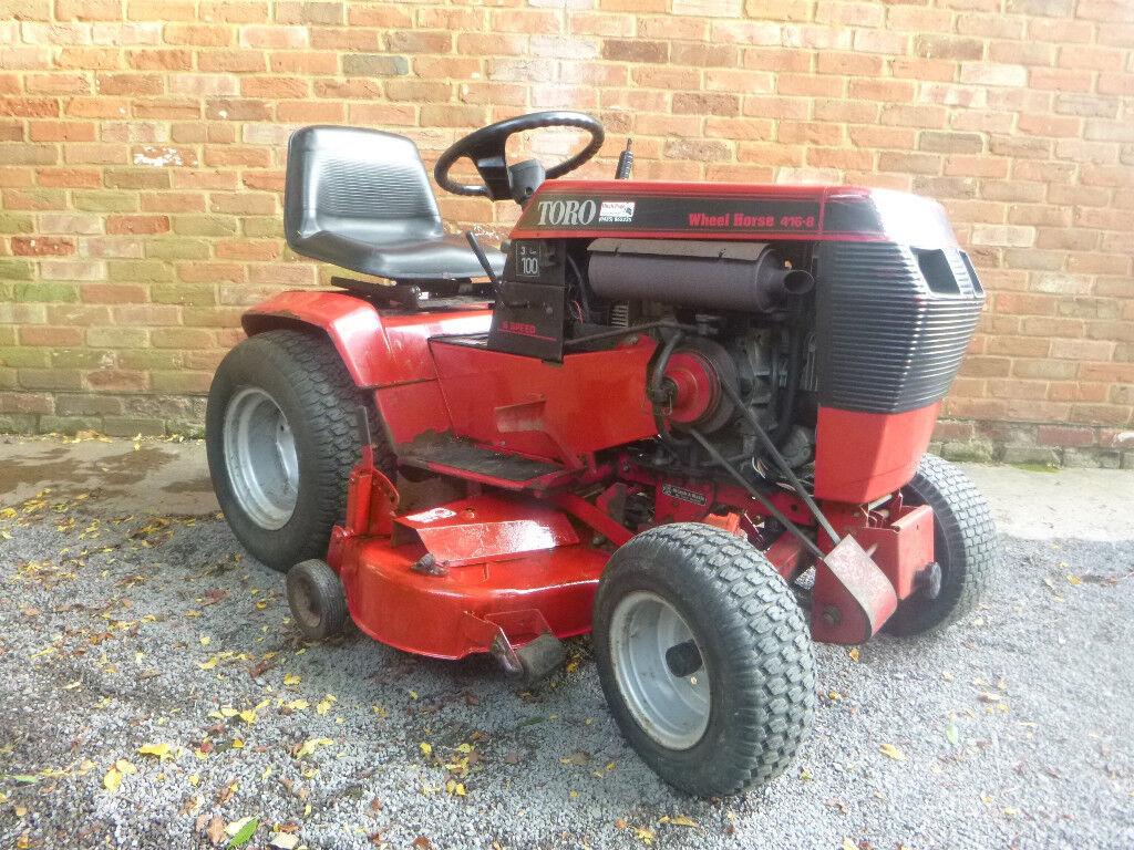 Mini Wheel Horse Tractor : Toro wheel horse ride on lawn mower hp compact