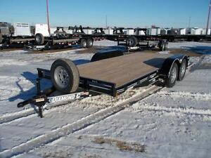 2017 Diamond C RC 16'x83 Flatdeck Car Hauler Trailer