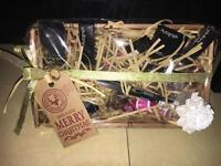 M&S xmas beauty hampers and models own xmas hampers