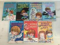 Horrid Henry 7 Book Bundle