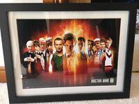 Dr Who framed pictures