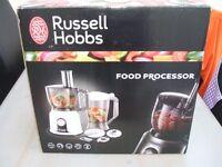 RUSSEL HOBBS FOOD PROCESSOR NEW IN BOX