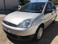 FORD FIESTA 5 DOOR 1.4 MANUAL / MOT TILL MAY 2019 / FULL SERVICE IN MAY 2018 / 102000 MILES / £950