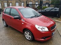 2010 CHEVROLET AVEO 1.2 TAX AND TESTED LOVELY CAR