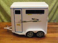 Breyer model horse-trailer and truck