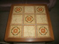 Nathan Tile Topped Square Coffee Table
