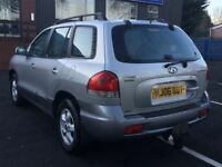 2006 HYUNDAI SANTA FE 2.4 CDX * MANUAL * LEATHERS * LOW MILES * PART EX * DELIVERY *