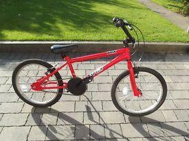 "BMX Trax Red 20"" Kids Bike-Good Condition"