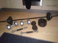 Weights/dumbell set