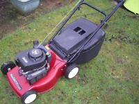 Petrol Powered Lawnmowers Wanted.