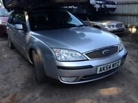 2004 Ford Mondeo 2.0 TDCi 115 ghia stardust silver BREAKING FOR SPARES