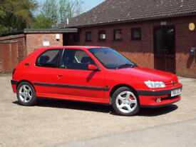 PEUGEOT 306 GTI-6 PHASE 1, MINT AND ORIGINAL,