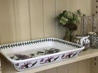 For sale: Portmeirion ceramic casserole dish