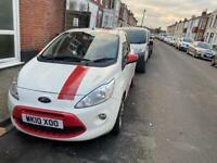 Individual Ford KA 2010 1.2 3dr red special edition 3 owners ,stunning condition,FSH, mot 10 months