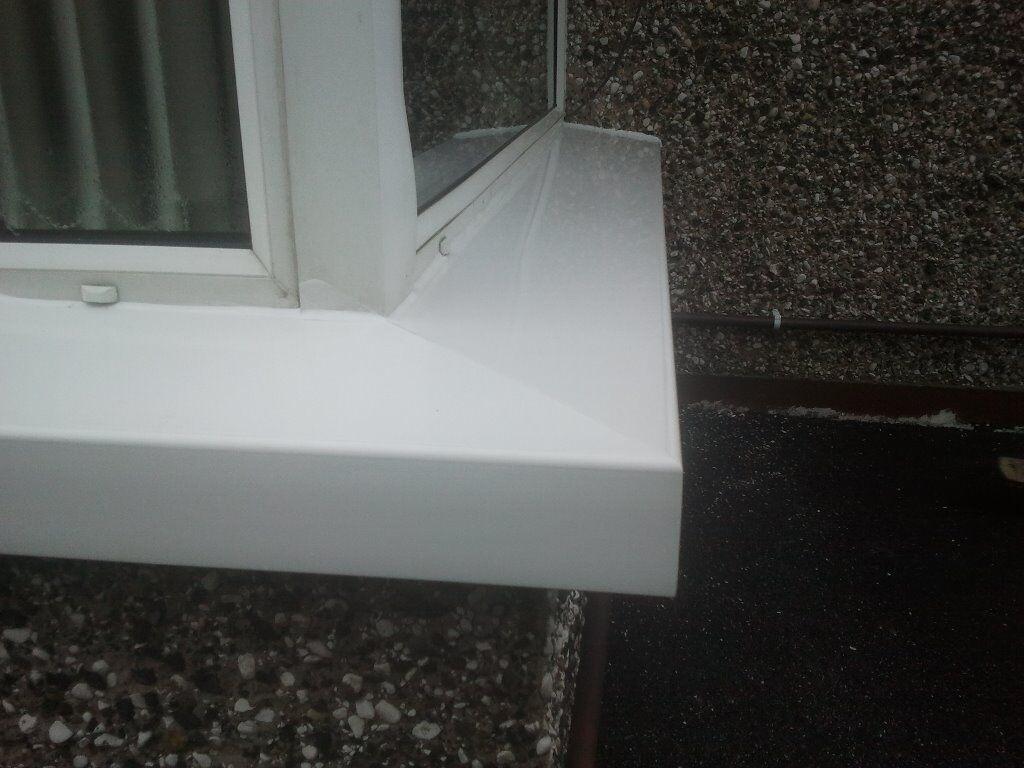 Pvc External Window Sill Cladding In Newtownabbey