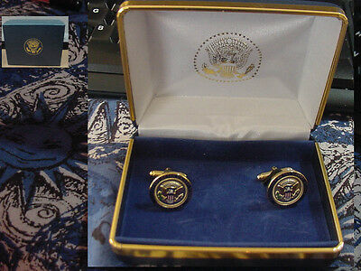 Pair Of  Presidential George H  W   Bush  Air Force One Cufflinks