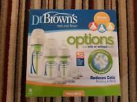 Brand New Dr. Brown's Bottles Starter Pack