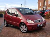 Mercedes A140 2003plate ONLY 38K MILES 8months mot Excellent Throughout 2keys