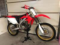 2008 Crf450 Road Legal