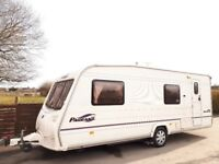 Bailey Pageant Bretagne 6 Berth Caravan With Motor Mover & Awning