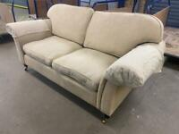 SOFA WITH CASTERS/ CASTORS 🚚FREE DELIVERY ✅ GOOD CONDITIONS