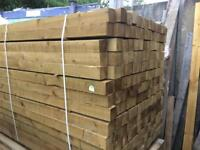 4x4 inch 8ft fence posts quality Timber