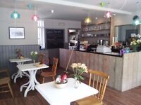 Full time Waiting staff/all rounder for busy Cafe in Hove