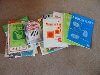 Music Books - Good Selection - Job Lot
