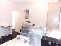 Cricklewood Ln-Basement shop available for Beautician, Therapist, Nail Technician Or Office
