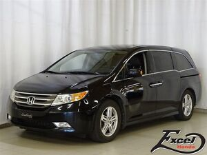 2013 Honda Odyssey Touring, DVD, Cuir, Navigation +++