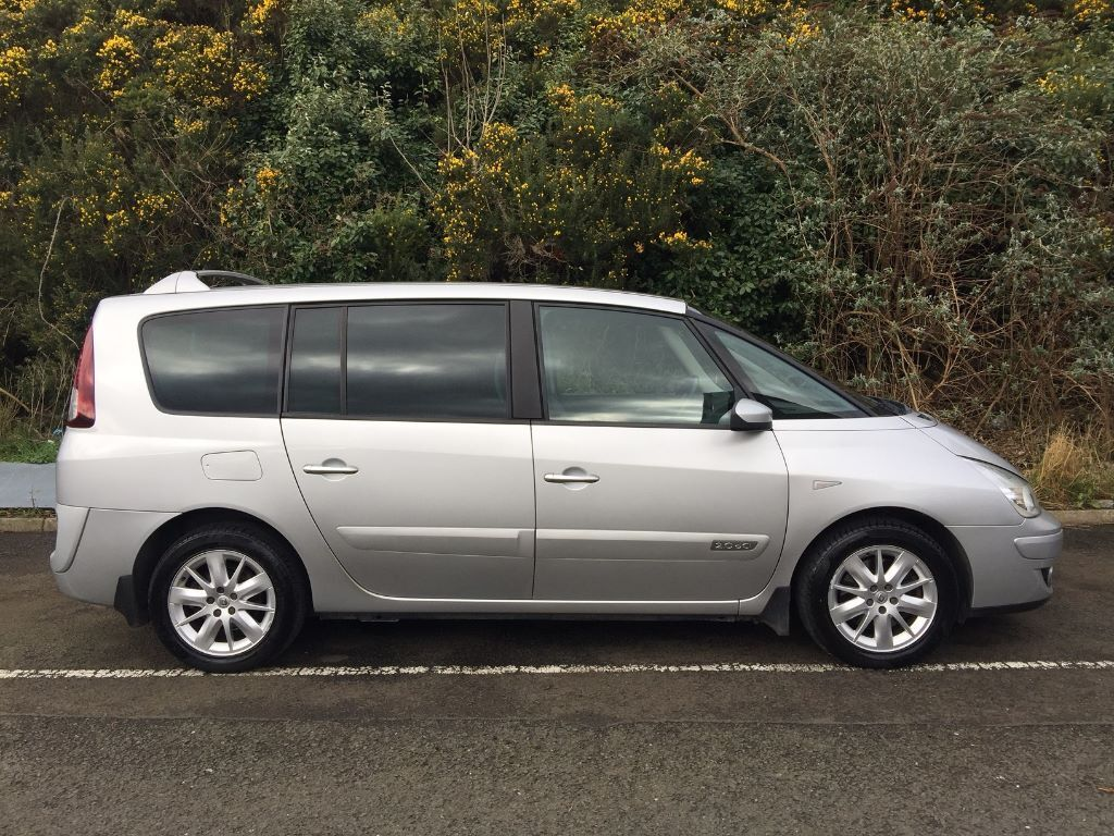 2009 Renault Grand Espace 2 0dci Dynamic 7 Seater Manual People Carrier Seven Seat In