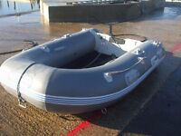 Tohatsu 3 man inflatable dinghy