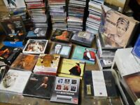 stunning collection of classical and opera cds 1742 box sets many rare items