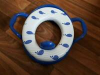 Toilet trainer seat