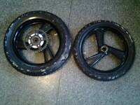 Cagiva mito 125 wheels and tyres