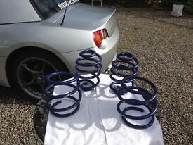 BMW Z4 E85 Lowering Springs